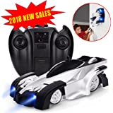 Remote Control Car RC Car - J-DEAL Mini Climbing Vehicle with Radio Control, Dual Mode 360° Rotating Stunt Car, Home Gravity Toy Car, Children Sport Racing Vehicle, Rechargeable Kids Elec