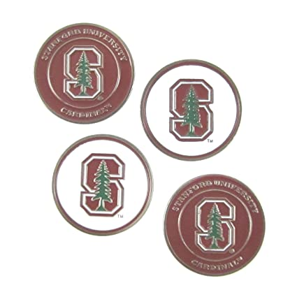 94c7059bc05 Image Unavailable. Image not available for. Color  Stanford Cardinal Double  Sided Golf Ball Markers ...
