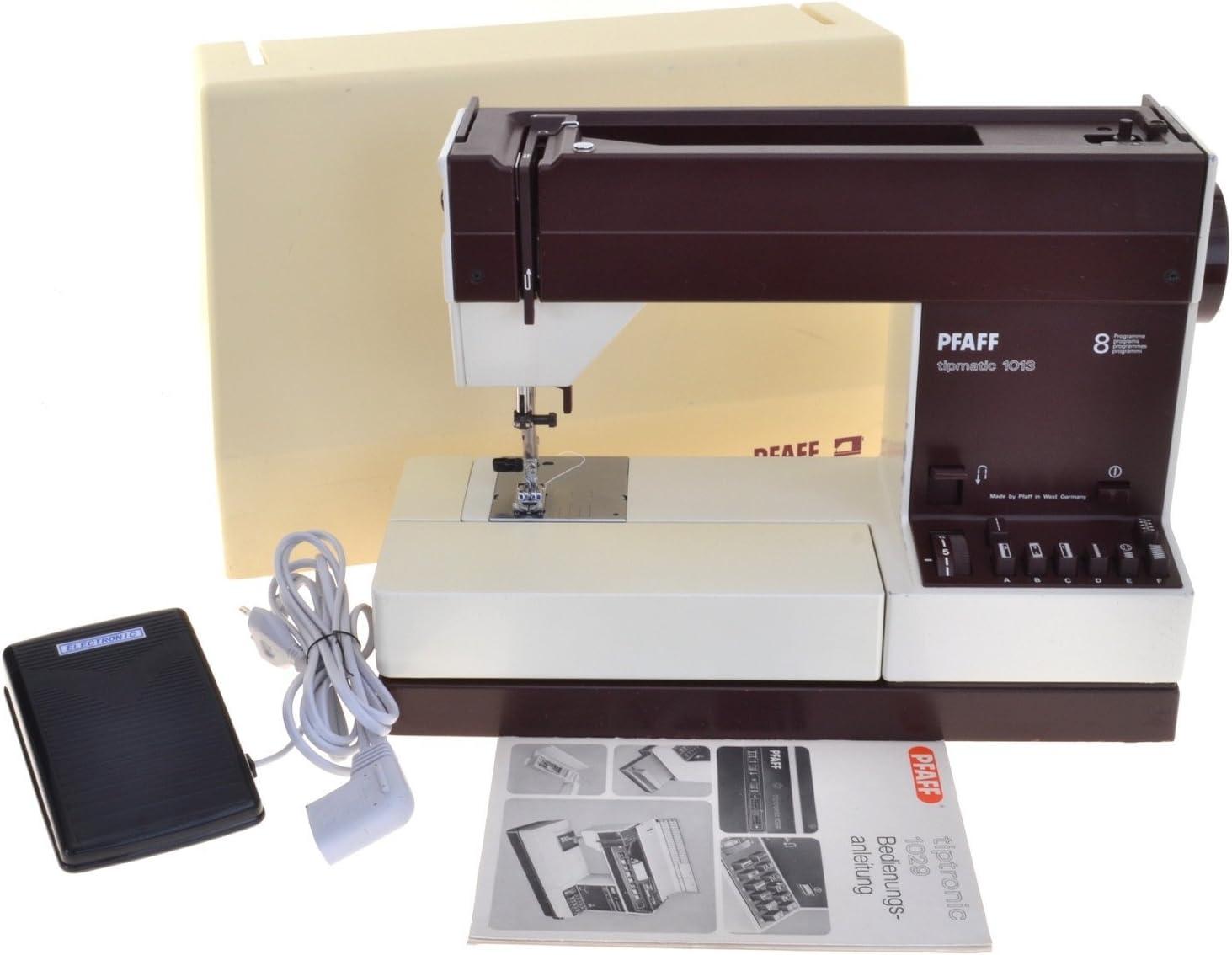 Máquina de coser Pfaff tipm Atic 1013: Amazon.es: Hogar