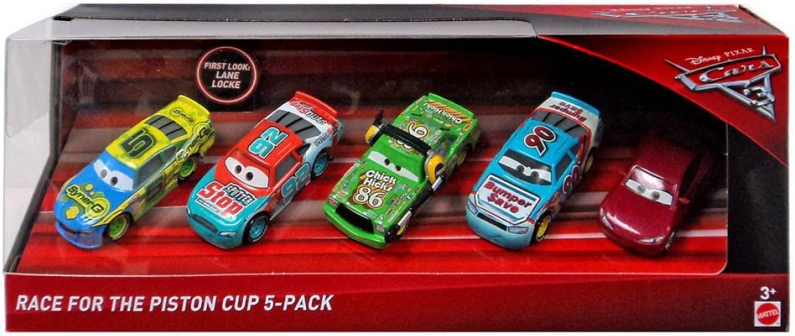 Cars 3 Piston Cup Race Diecast Car 5-Pack