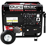 Durostar DS10000E, 8000 Running Watts/10000 Starting Watts, Gas Powered Portable Generator