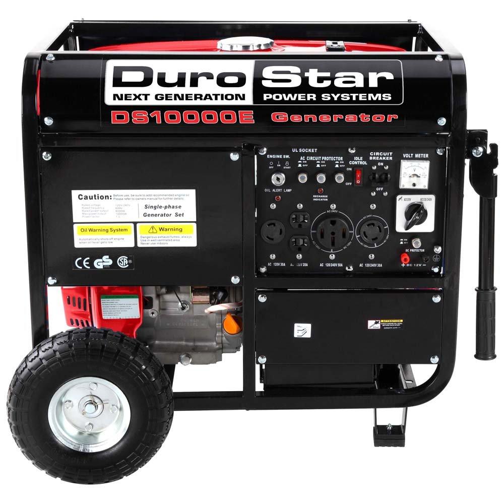 Durostar Ds10000e 8000 Running Watts 10000 Starting Generator Circuit Breaker Manufacturers In Gas Powered Portable Duromax Generators Garden Outdoor