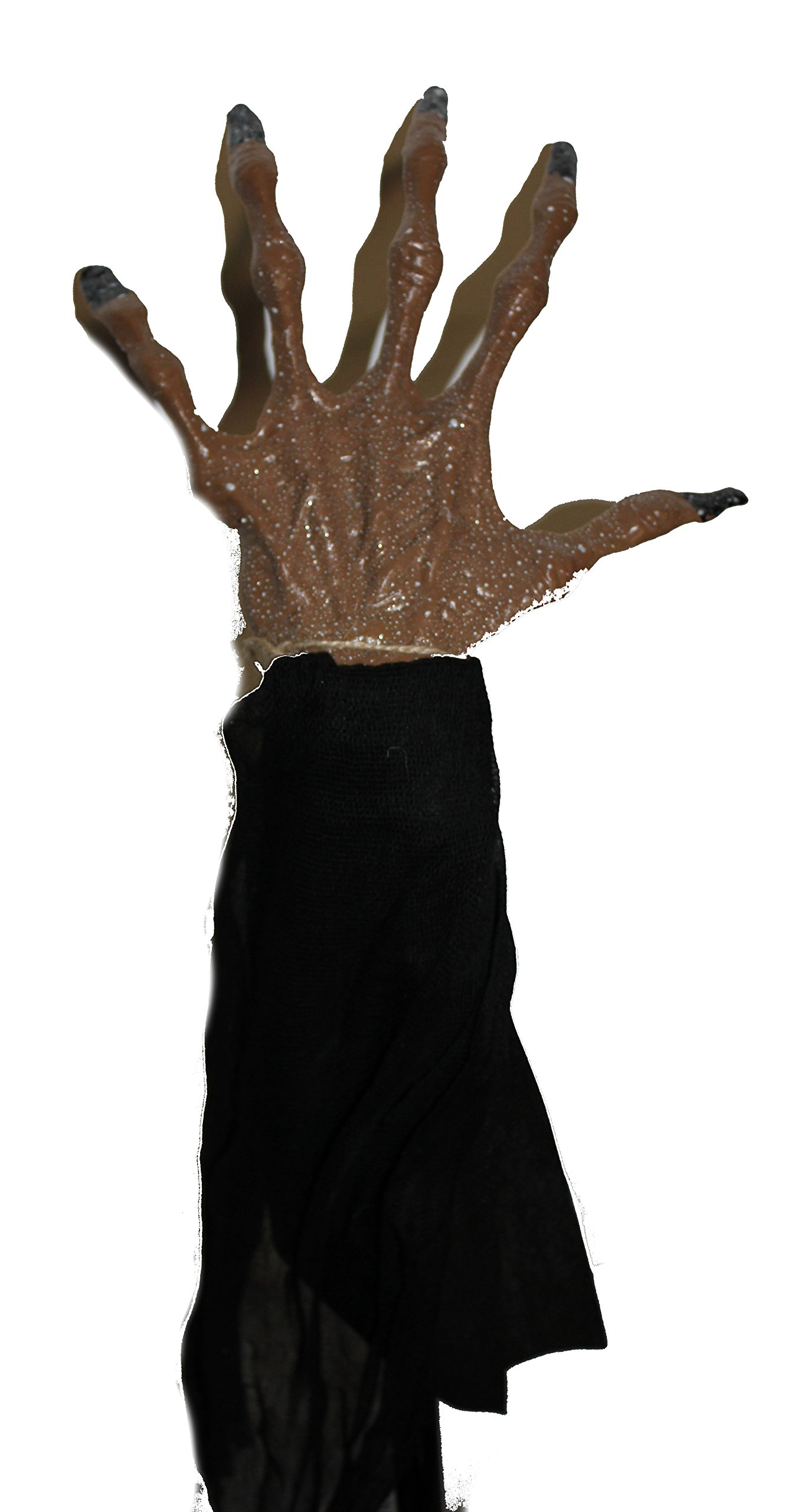 Scary 20'' Witch Arm and Hand Garden Stake, Yard Decoration, Props, Lawn Decorations and Accessories