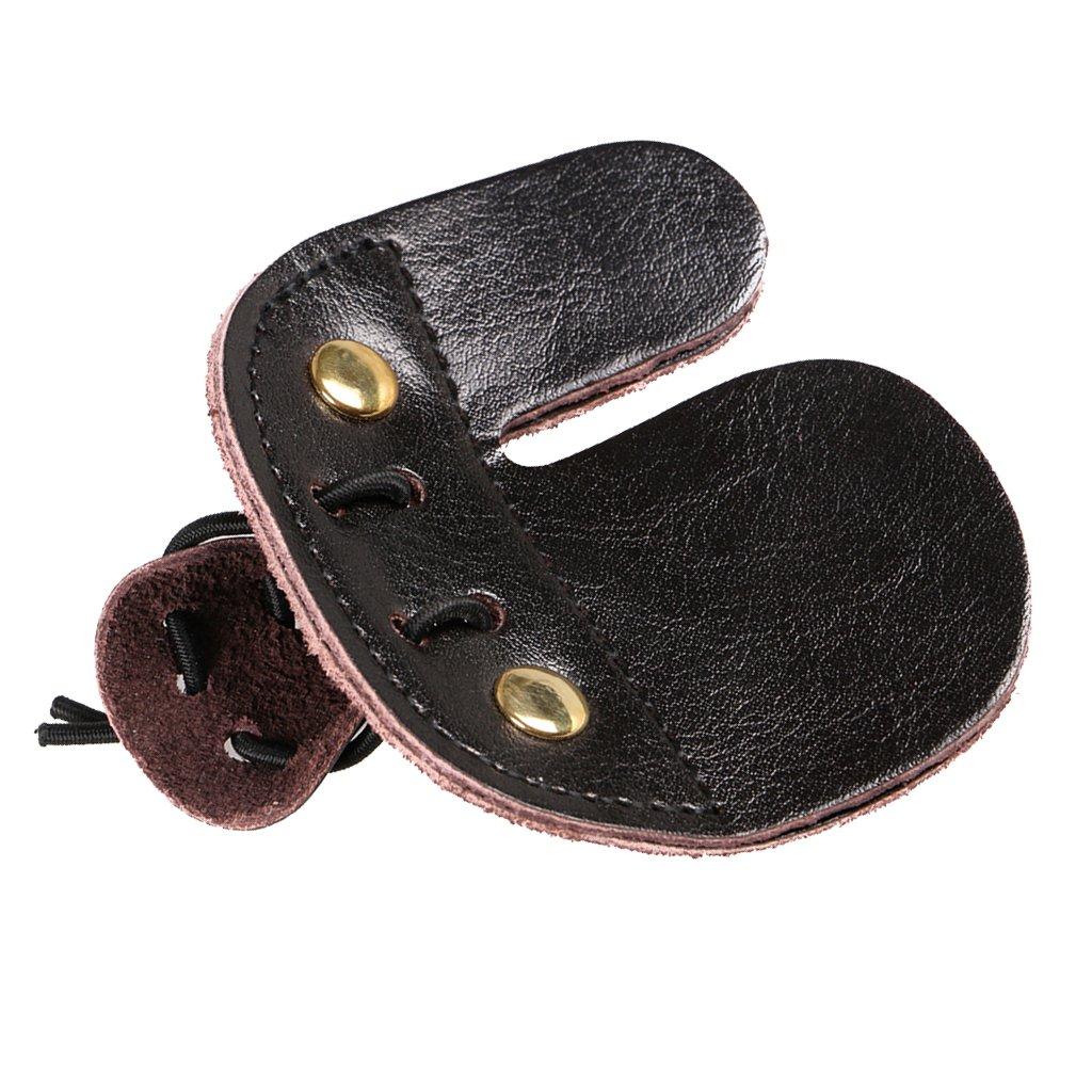 Gazechimp Fingertab f/ür Bogenschie/ßen Finger Schutz Bogensport Fingerschutz