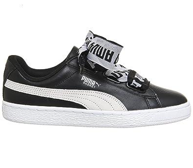 Puma Basket Heart Explosive Damen Sneaker Schwarz fccaa9a5ea