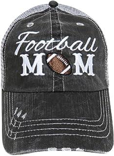 0069bd5f6 Katydid Football Mom Side Patch Womens Trucker Hat at Amazon Women's ...