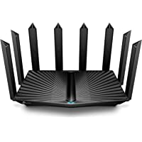 TP-Link AX6600 WiFi 6 Router (Archer AX90)- Tri Band Gigabit Wireless Internet Router, High-Speed ax Router for Gaming…