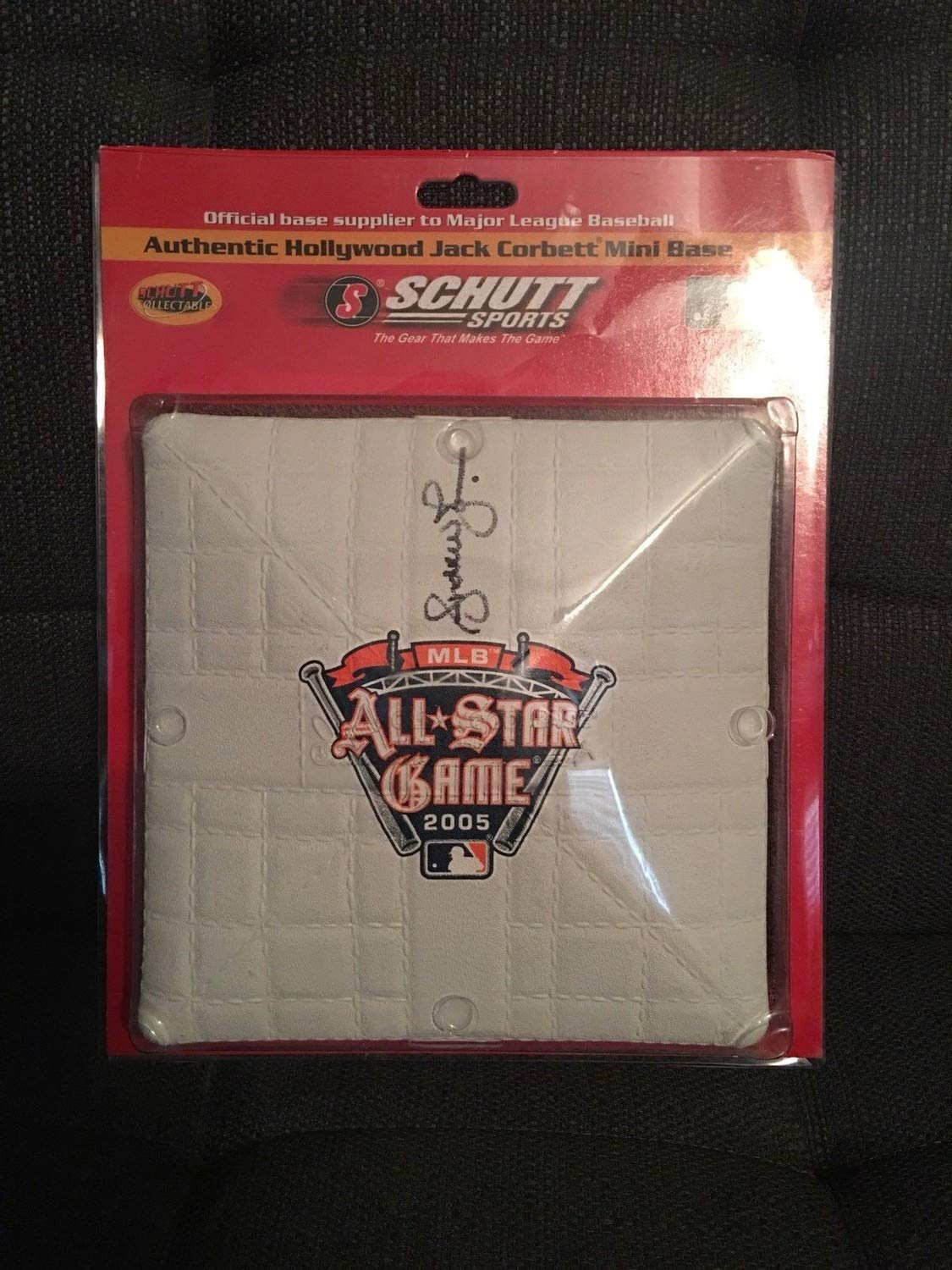 Andruw Jones Autographed Signed 2005 All Star Mini Base JSA Authentic