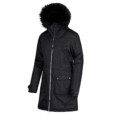 b3c30517b11 Regatta Women's Lucasta Waterproof And Breathable Insulated Jacket, Black,  ...
