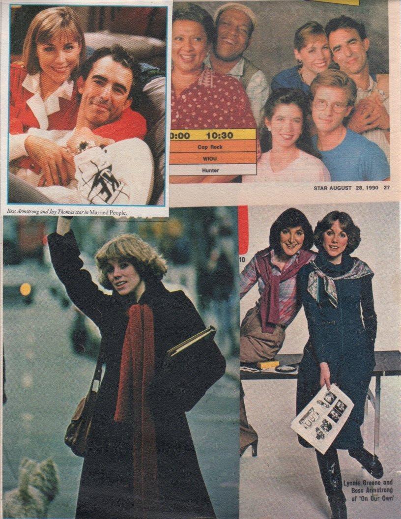 Amazon.com: Bess Armstrong original clipping magazine photo ...