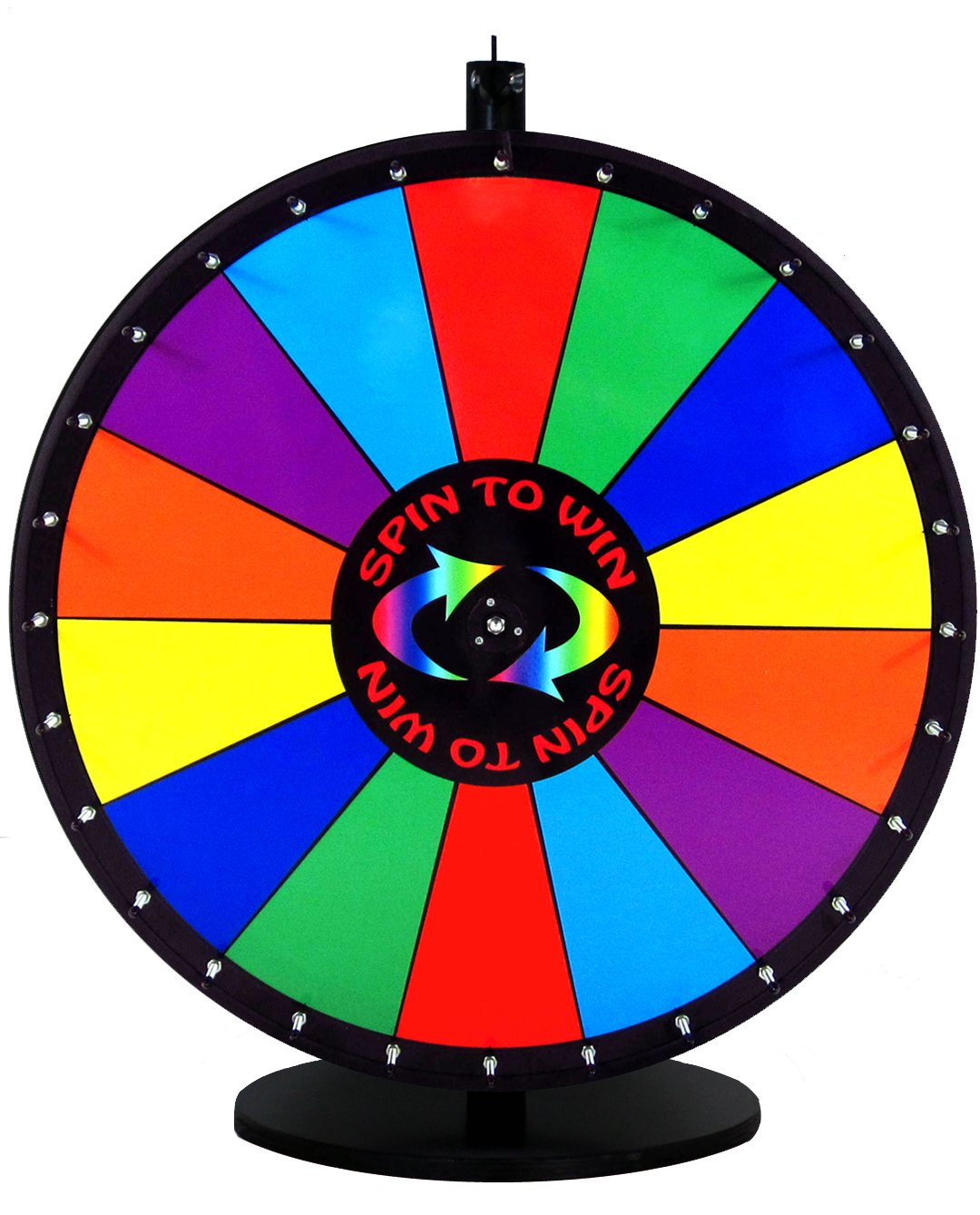 36 Inch Quality Spin to Win Dry Erase Prize Wheel