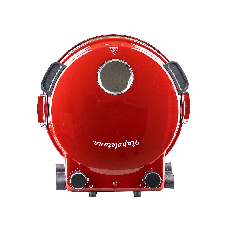 Rosso H.Koenig NAPL350 Forno per Pizza Napoletana Temp max 350/° Piatto in ceramica diam 32 cm