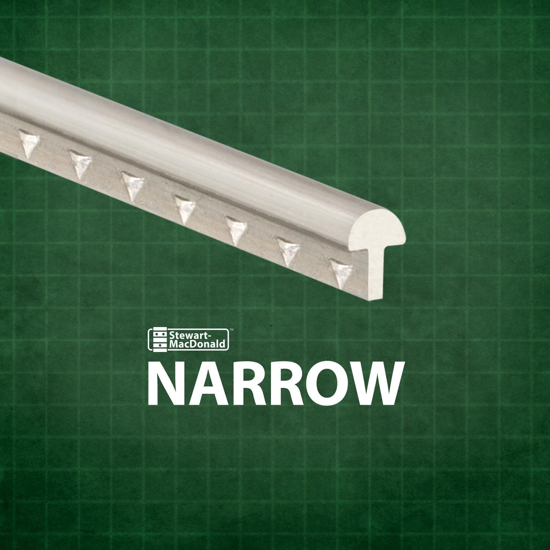 StewMac Narrow Fretwire, Narrow/Low, 2-foot piece - 3 pack #AN0764