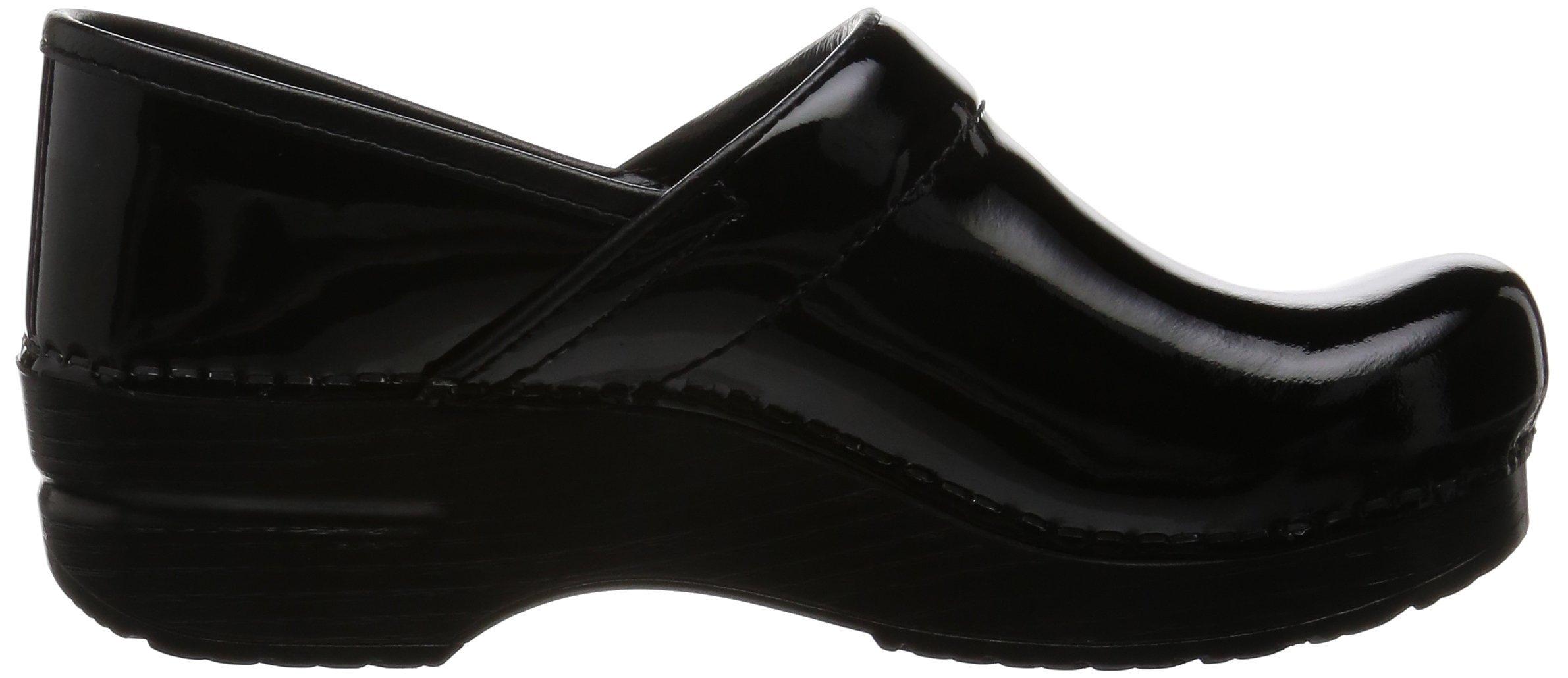 Dansko Women's Professional Patent Leather Clog,Black Patent,37 EU / 6.5-7 B(M) US by Dansko (Image #8)