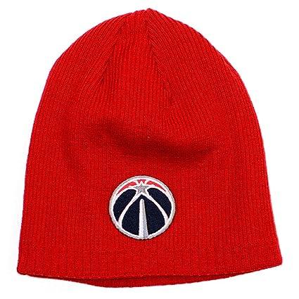 Amazon.com   adidas Washington Wizards Mens Beanie Knit Hat   Sports ... 59d1eddaf67