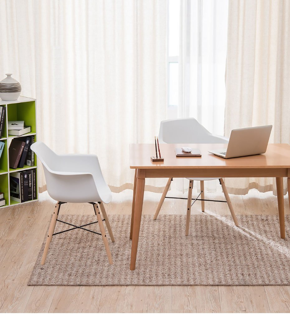 Amazon.com - Dining Chairs Modern Simple Office Chair Solid Wood ...