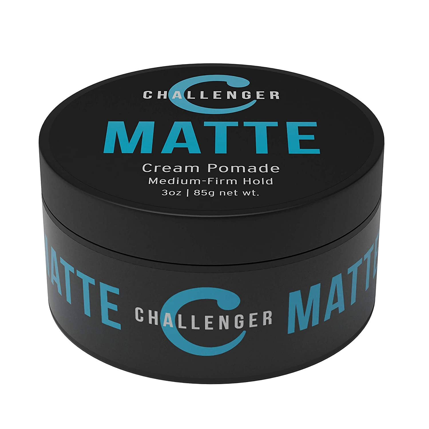 Buy Challenger Blue Matte Styling Cream 3 Oz Medium Firm Hold Best Hair Product For Short Medium Length Hair Professional Shine Free Water Soluble With Clean And Subtle Scent Online