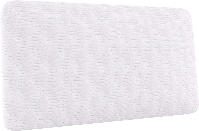 AmazonBasics - Almohada de viaje pequeña de espuma con memoria, 42 x 24 x 12 cm