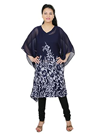 47422bb71f Express 2 Impress Women s smart printed georgette kaftan without lining or  slip (EXP-357