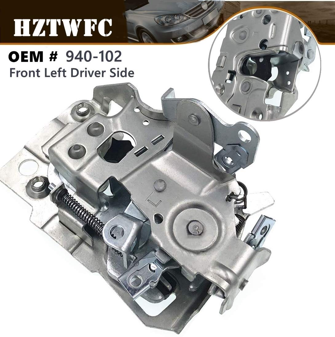 Door Latch Lock Assembly Driver Side Compatible for Cadillac Chevrolet GMC Oldsmobile 940-102 Auto Accessories Front Left HZTWFC