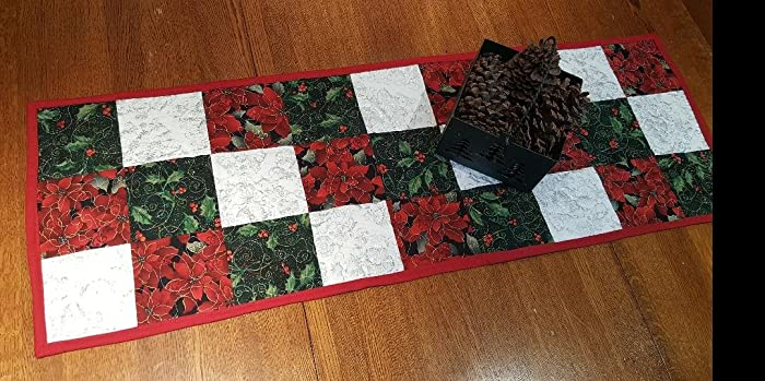 good tidings quilted christmas table runner free shipping