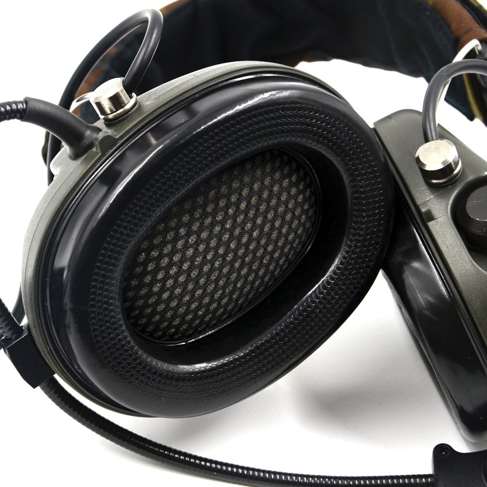Impact Sport Sound Amplification Electronic Earmuff, Classic Green by Dolphin (Image #4)