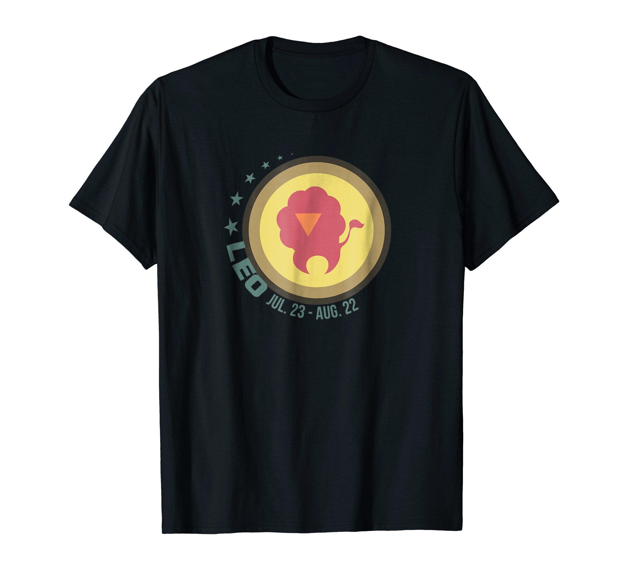 Leo Zodiac Sign T Shirt