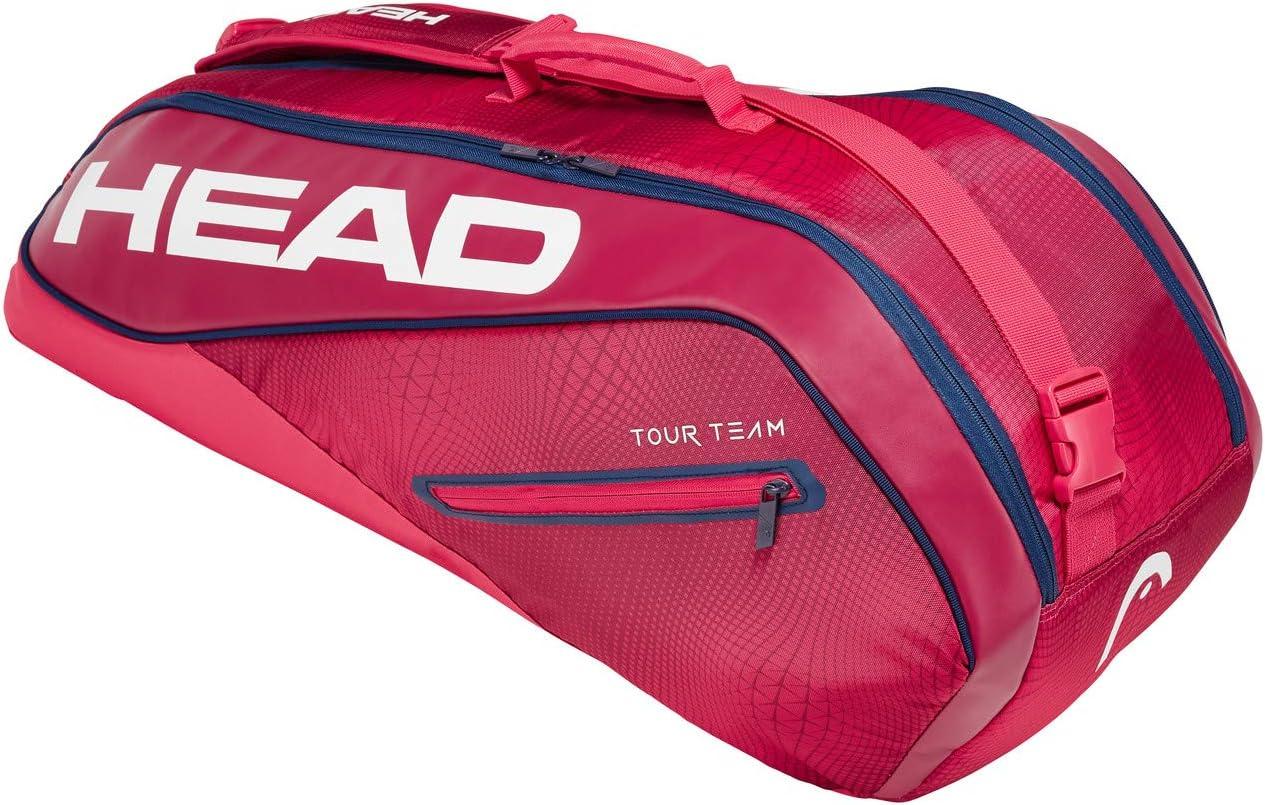 Head Tour Team 6r Combi Bolsa de Tenis, Unisex Adulto