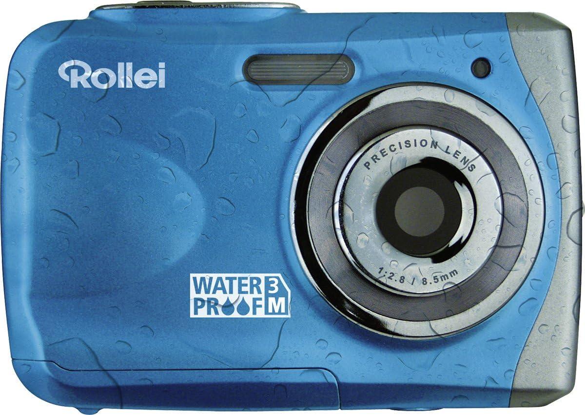 Rollei Sportsline 50 Digitalkamera 2 4 Zoll Blau Kamera