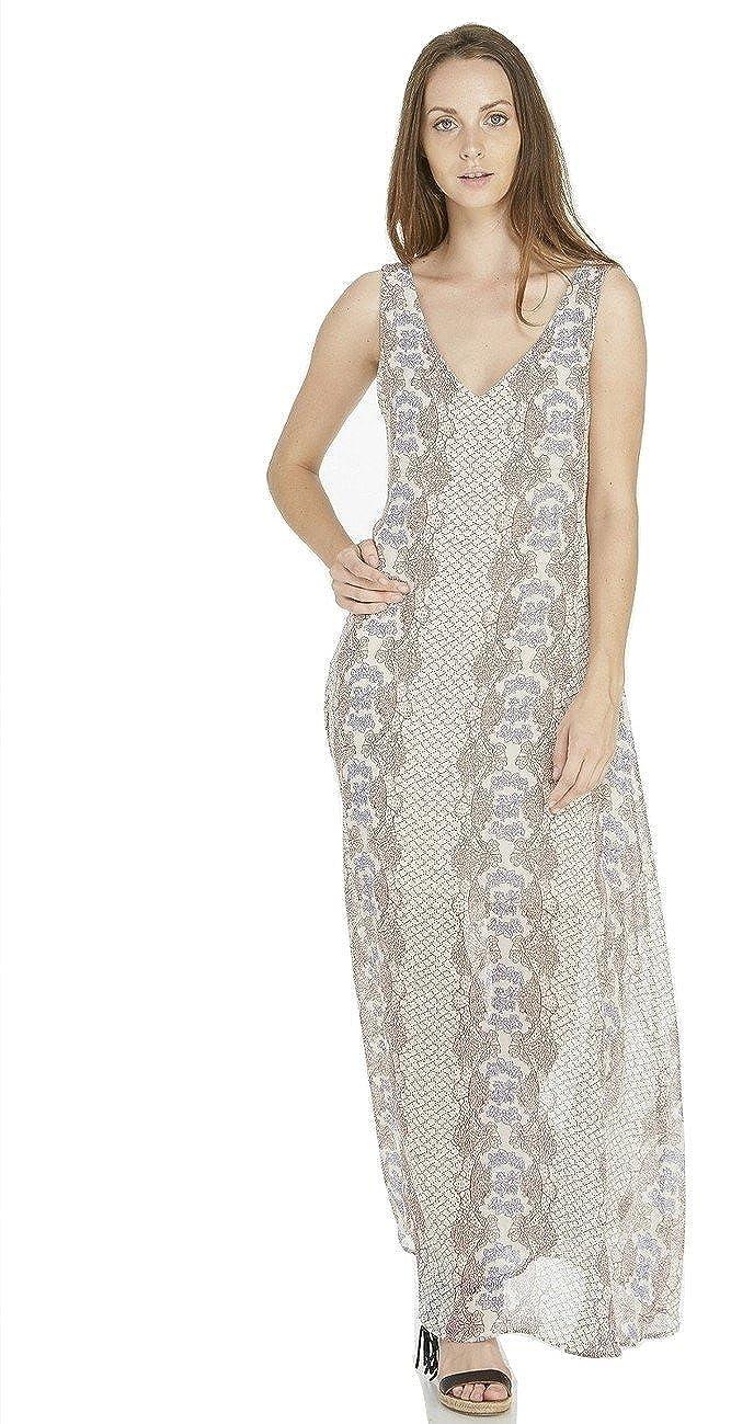 Fraiche By J Adele Lace Up Back Maxi Dress