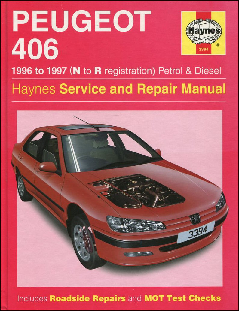 Haynes Owners + Workshop Car Manual Peugeot 406 Petrol + Diesel (96 -04)  3394: Amazon.co.uk: 0038345033940: Books