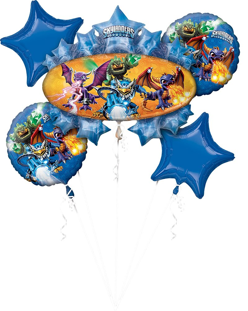 Anagram 81491 Licensed Balloon Bouquet, Blue