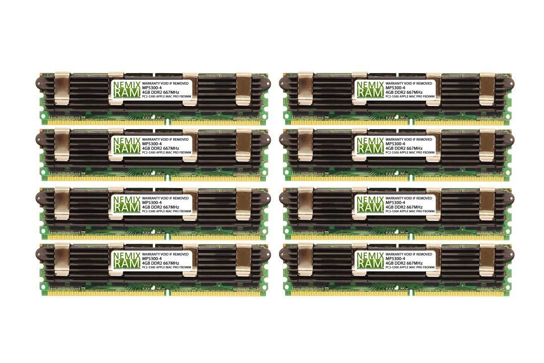 2X4GB ECC FBDIMM Apple Mac Pro 8GB KIT DDR2 667MHZ PC2 5300