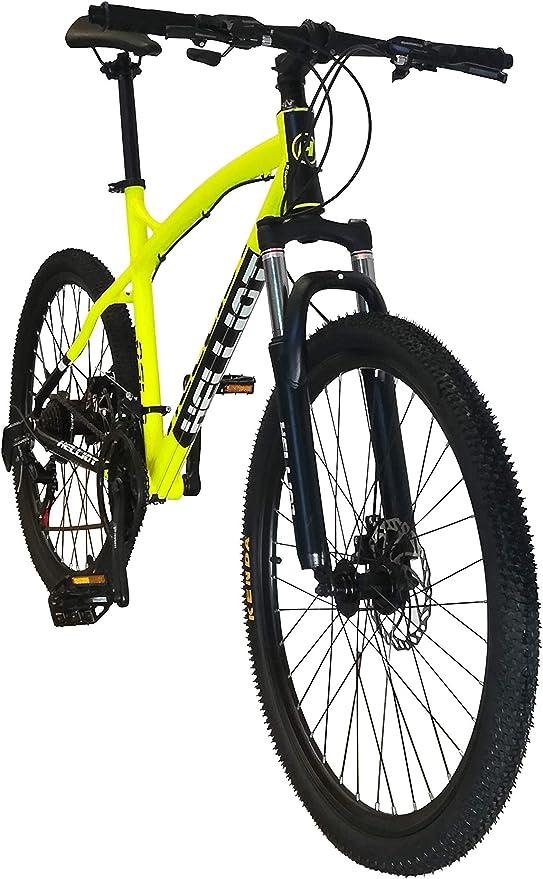 24V Doble Freno Disco M-L Susp Moma Bikes Bicicleta Monta/ña SHIMANO GTW 26Alu Delant