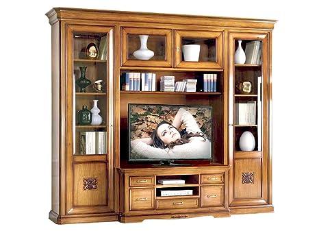Parete tv soggiorno componibile: Amazon.it: Casa e cucina