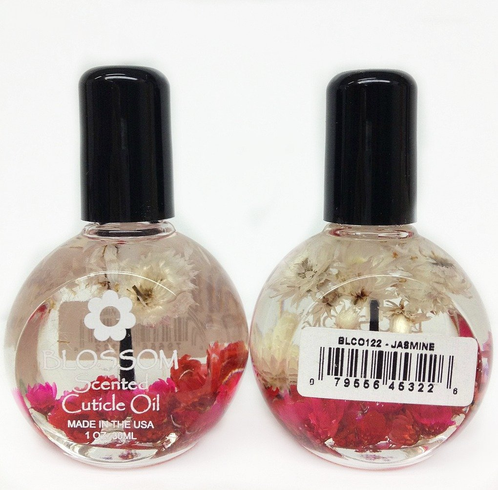 Blossom Scented Cuticle Oi - Jasmine 1 Oz by Blossom Blue cross beauty