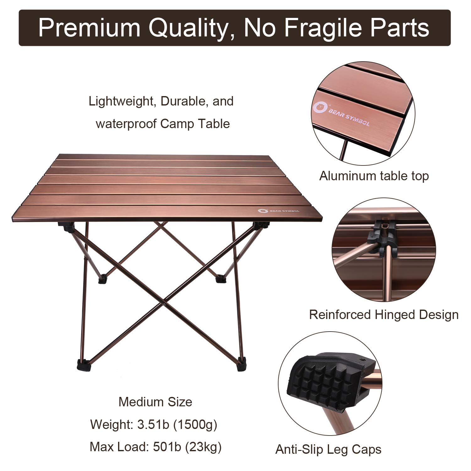 Stupendous Erago Portable Folding Premium Camping Table Lightweightbackpack Appropriate For Dining Cooking Hiking Camping Picnic Beach Outdoor Frankydiablos Diy Chair Ideas Frankydiabloscom