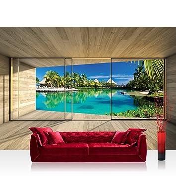 Papel Pintado Fotográfico Premium Plus Arquitectura Fotos pintado cuadro – Papel pintado de pared terraza balcón