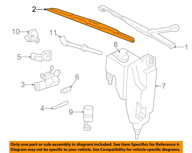 General Motors 15757008, Windshield Wiper Blade by General Motors (Image #1)