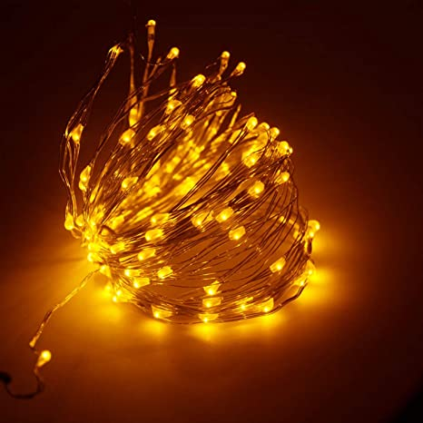 Amazon.com : 20M x 200LED Christmas LED Lights Copper Wire String ...