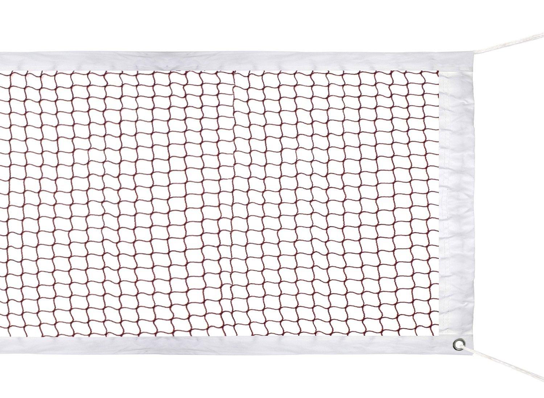 HOGAR AMO Red de Bádminton Redes (Malla Trenzada de Nylon en Rojo) para el Interior o al Aire Libre Jardín de Patio de Jardín de Jardín Cuerda en la Parte Superior(610 x 76 cm) Sin Marco JM00053-01@#JL