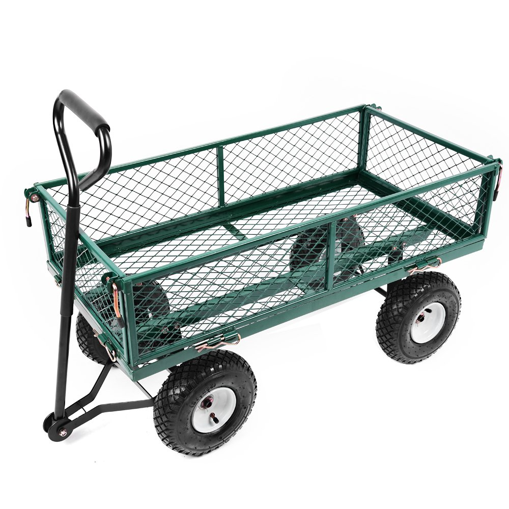 Folding Sack Truck Hand Trolley Garden Cart Barrow 80 kg/176lbs (Trolley02) furniture-uk-shop