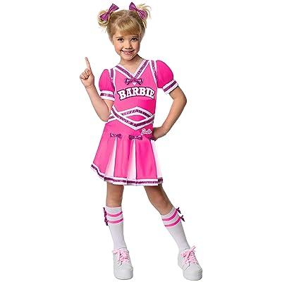 Barbie Cheerleader Costume, Medium: Toys & Games