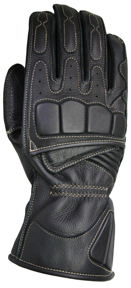 ジェーアールピー(JRP)  バイク レザーグローブ   XDL ロンググローブ ブラック S B007G2J6H8 S ブラック ブラック S