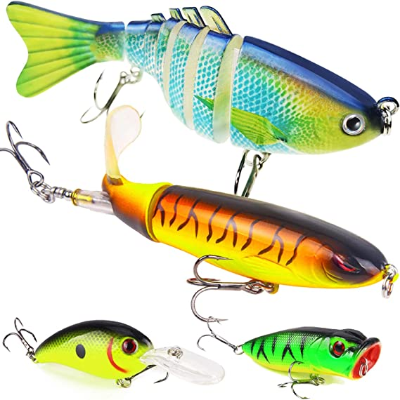Rotating Spinner Sequins Feather Fishing Lure Wobbler Artificial Fishing K5A0