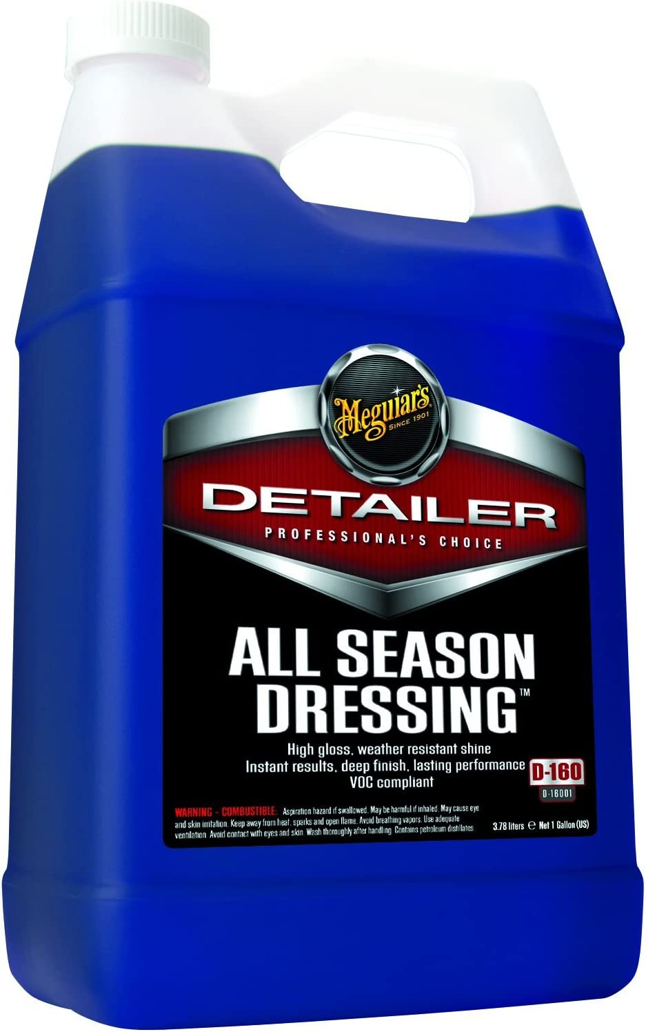 MEGUIAR'S D16001 All Season Dressing - 1 Gallon: Automotive