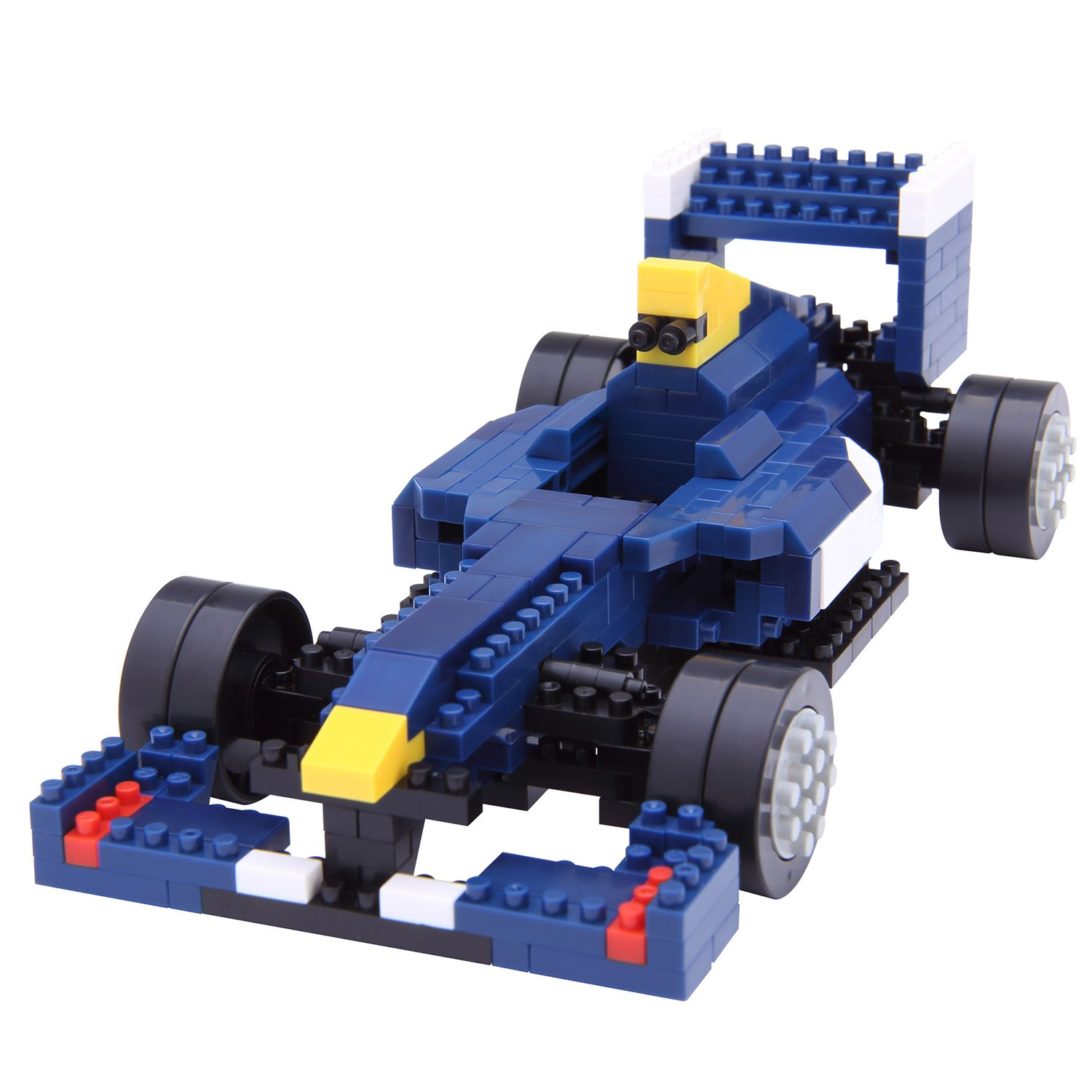 Nanoblock Formula Race Car Building Kit