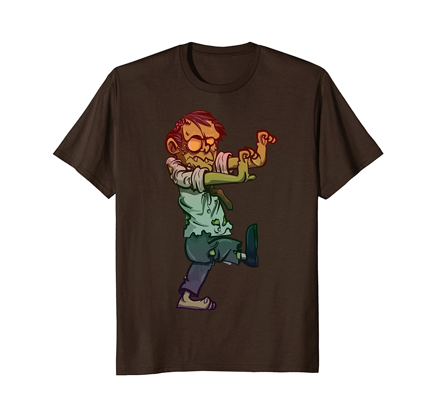 Zombie T-Shirts For Women Men's or Kids Funny Halloween Tee-Rose