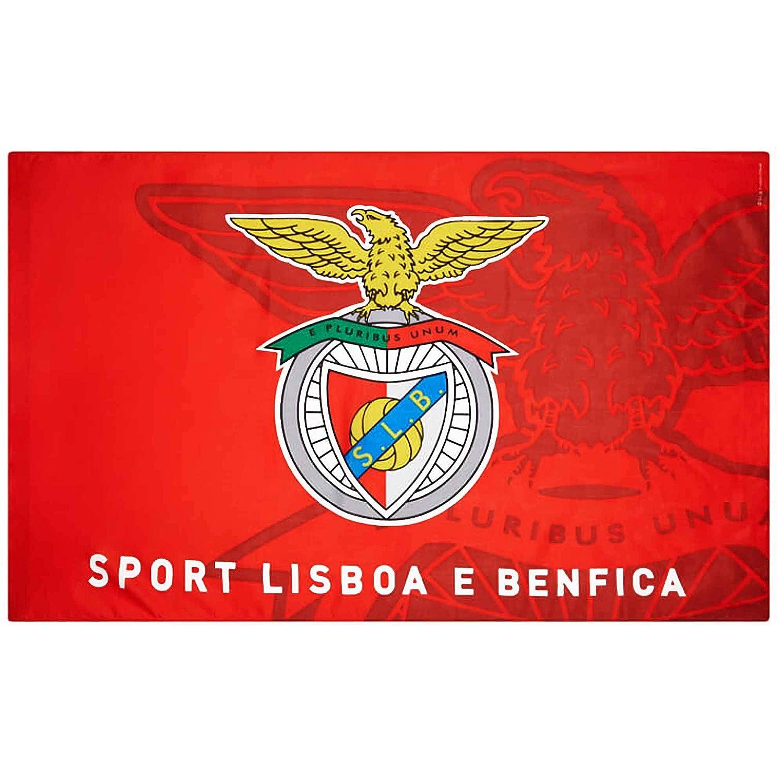 142cm x 90cm Benfica Giant SL Soccer Crest Flag