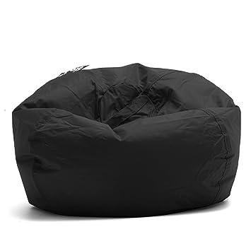 Admirable Big Joe 98 Inch Bean Bag Limo Black 641602 Alphanode Cool Chair Designs And Ideas Alphanodeonline